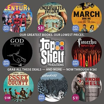 The Top Shelf Three Dollar Graphic Sale Begins Right Now Right Here