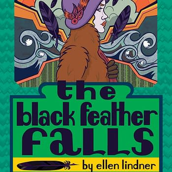SPX Debuts &#8211 Ignatz Award-Nominated London-Set Flapper Mystery The Black Feather Falls