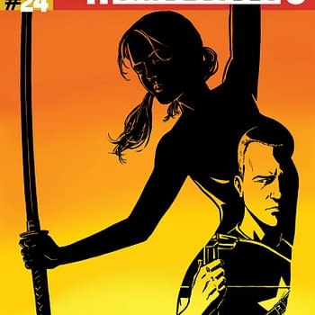 Double Shot Previews From Valiant &#8211 Archer &#038 Armstrong #24 And Armor Hunters: Harbinger #3