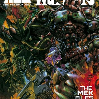 Preview The First 10 Pages Of ABC Warriors: The Mech Files 02 From 2000AD With Ravishing Kev Walker Artwork