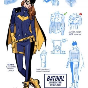 The Yellow Doc Martens Batgirl Is A Smash Hit