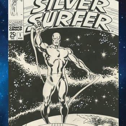 John Buscema Silver Surfer Gets The IDW Artist Edition Treatment