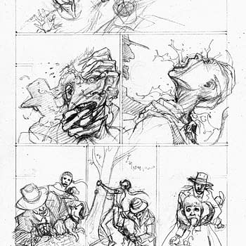The Evolution Of Juan Ferreyras Art On Colder: The Bad Seed #1