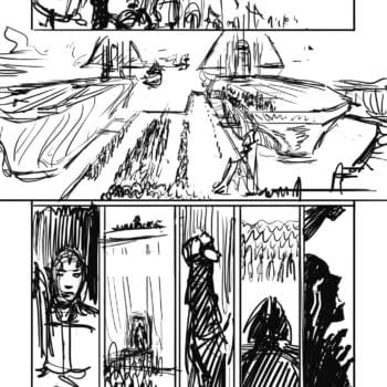 Inside The Art Process On Michael Moorcock's Elric: The Ruby Throne From Titan