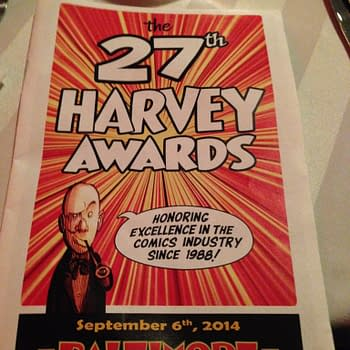 LIVE The Harvey Awards 2014 &#8211 Sex Criminals Shines Adventure Time Twinkles Comix Book Trumps The Fifth Beatle Sings Saga Soars And Pizza Is Still Our Business(UPDATE)
