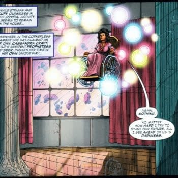 46 Thoughts About 45 Comics – Justice League Dark, Edge Of Spider-Verse, Futures End, Aquaman And The Others, Wayward, Roche Limit, Chew, Bob's Burgers, Doomed, Bee & Puppycat, Booster Gold, Magneto, Guardians Of The Galaxy, Tag, Red Sonja, Legenderry, Nightbreed, Butterfly, Pathfinder, Lumberjanes, Chronicles Of Hate, Evil Empire, Batman Eternal, My Little Pony, Superman, Harley Quinn,  Sinestro, GI Zombie, GI Joe, Red Lanterns, Flash, Catwoman, Saga, Bravest Warriors, Outcast, Battlestar Galactica 1880, Justice Inc, Voice In The Dark, City On The Edge Of Forever, Godzilla, Transformers, Ghostbusters, Samurau Jack, Steed & Mrs Peel. Empty Man,
