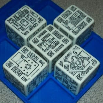 Roll Out Your Fantasy Dungeons With Inkwell Ideas' DungeonMorph Dice