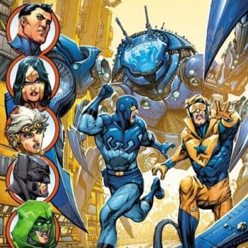 The Return Of The Pre-52 Blue Beetle And Booster Gold – Respectfully, We Informed You Of This At A Previous Juncture