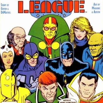 Kevin Maguire's Justice League Homage For 2020