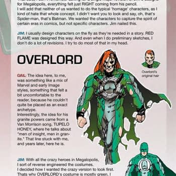 Preview Character Designs And Meta Content From Leaving Megalopolis By Gail Simone And Jim Calafiore