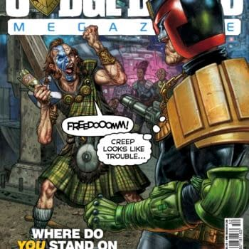 Preview This Week's Judge Dredd Megazine And 2000AD
