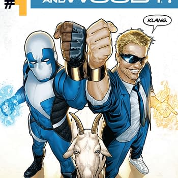 Free On Bleeding Cool &#8211 Quantum And Woody #1