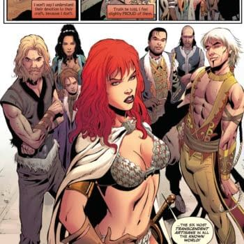 Exclusive Extended Previews Of Bob's Burgers #2, Red Sonja #12 And Pathfinder: City of Secrets #5
