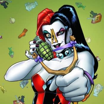 DC Comics Creates A Harley Quinn Comic That Smells Like Cannabis for The US, And One That Doesn't For Everyone Else