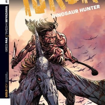 Exclusive First Looks At Magnus: Robot Fighter #7 And Turock: Dinosaur Hunter #8