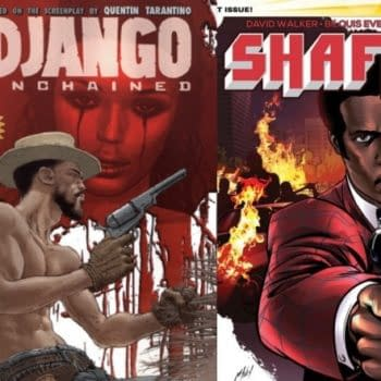 Could A Django/Shaft Comic Book Be Next On The Cards?