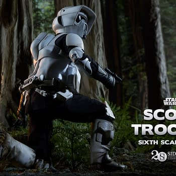 Win A Scout Trooper And Speeder Bike From Sideshow Collectibles