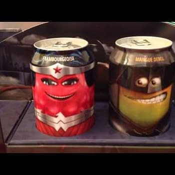 Unboxing The Fruity French Wonder Woman And Batman Oasis Drinks