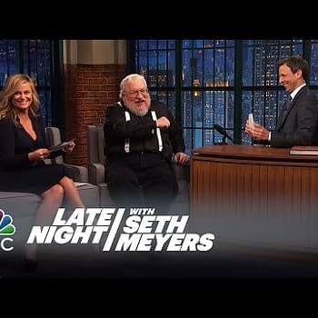 Poehler And Meyers Quiz George R. R. Martin About His Own Characters