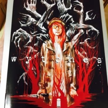 Scott Snyder And Jock's Wytches #1 NYCC Variant Quickly Sells For Over A Hundred Bucks