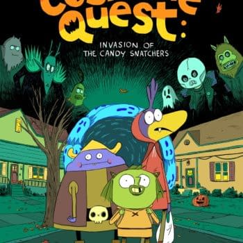 Candy Shortage Leads To Candy Snatching In Costume Quest Graphic Novel