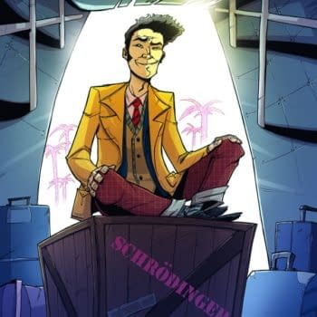 Rob Guillory's Cover To Douglas Adams' Dirk Gently's Holistic Detective Agency – The Comic