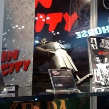 And Finally… Mike Richardson To The Rescue Of Sin City's Marv At New York Comic Con