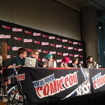 Live From The Doctor Who Comics Panel With Titan Comics At NYCC 2014
