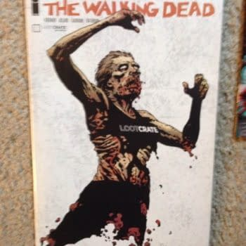 The October Loot Crate – Will Walking Dead #132 Top October's Charts Now?