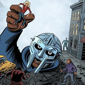 Dean Haspiel Invokes A Silver Age Comics Bio For Emcee MF Doom At Red Bull Music Academy