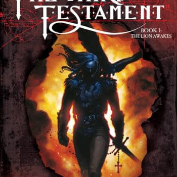 Dive Into Some Spooky Process Art For Titan's Inquisition-Set Third Testament, Out Today