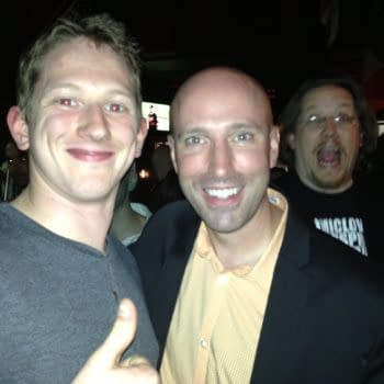 When Rich Johnston Photo-Bombed Brian K Vaughan