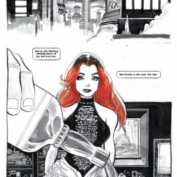 Two Tim Sale Pages From The Thought Bubble Anthology 2014 From Image Comics