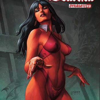 Free On Bleeding Cool &#8211 Vampirella Vs Dracula #1 By Joe Harris And Ivan Rodriguez