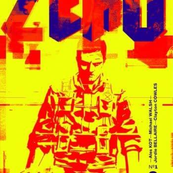 TV Pilot Script For Ales Kot's Zero On The Blood List