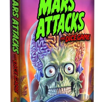 Halloween Gaming Finds – The Mars Attacks Dice Game
