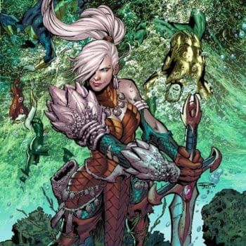 Jeff Parker and Paul Pelletier Bring Atlanna To The New 52