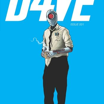 IDW To Publish D4VE From Ferrier And Ramon