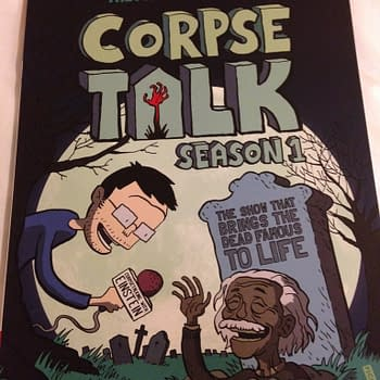 British Comics Are Just Really Good: Talking To Dead People For Education And Entertainment #TB14