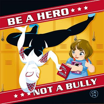 Heroes in Cleveland Against Bullying (Plus: Spider-Gwen)