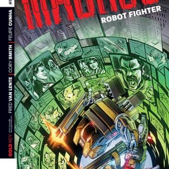Turning The Gold Key – Frank Barbiere Talks With Fred Van Lente About Mangus: Robot Fighter