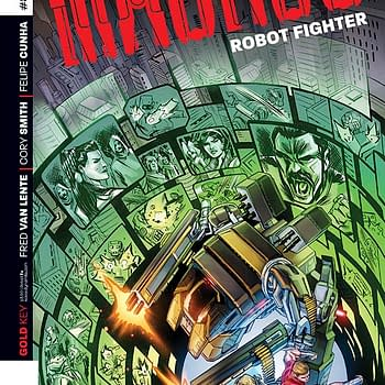 Turning The Gold Key &#8211 Frank Barbiere Talks With Fred Van Lente About Mangus: Robot Fighter