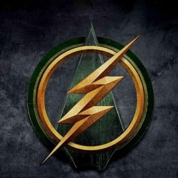 Logo For The Flash And Arrow Crossover And This Weeks Teasers