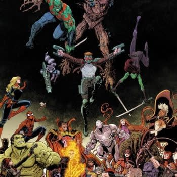 Marvel Launches Sixth Ongoing Guardians Of The Galaxy Comic