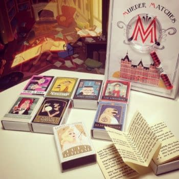 Thought Bubble Debut: Matchbox Murder Mysteries – #TBF14