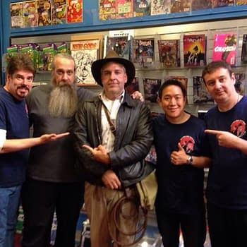How About Dem Apples: Mitch Hallock On Comic Book Men Comic-Conn And Comic-Culture Through A Golden Straw
