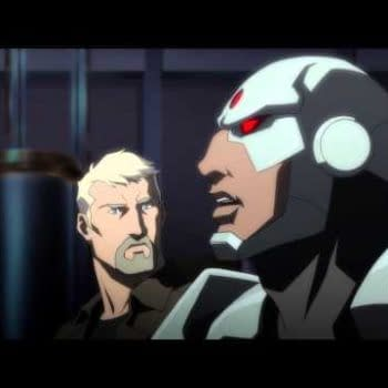 Cyborg And Submarines – Clip From Justice League: Throne Of Atlantis