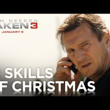 Liam Neeson Gets Into The Holiday Spirit In Latest Taken 3 Trailer