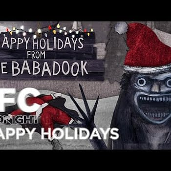 Holiday Greetings From The Babadook