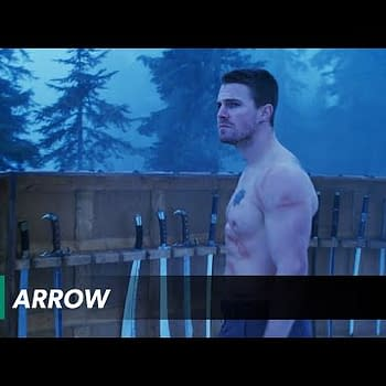 The Arrow Fall Finale Pits Oliver Queen Vs Ras Al Ghul